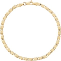 Heart Of Gold Bracelet in Yellow Gold