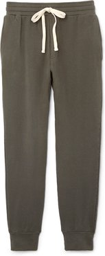 Supersoft Fleece Joggers in Olive, Small