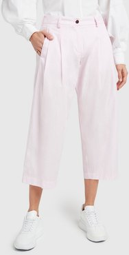 Rose Pants in Pale Pink, Size IT 38