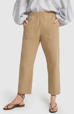Anita Pants in Beige, X-Small