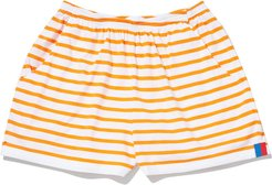 The Shorts in White/Orange, X-Small