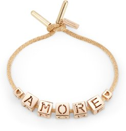 Amore Bracelet in Yellow Gold