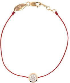 Madly Pure Diamond Red Cord Bracelet