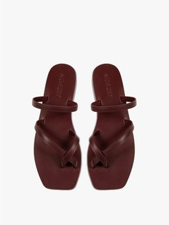 The Colby Leather Sandal