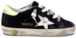 Kids Superstar Sneaker in Night Blue/White/Yellow