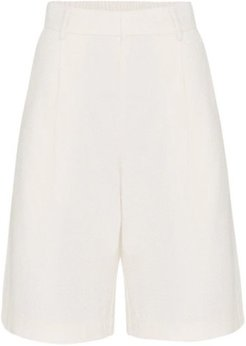 High Waisted Tailored Loose Short