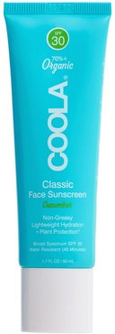 Classic Face Sunscreen Lotion Spf 30 - Cucumber
