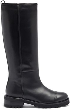 Beda leather knee-high boots