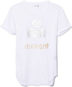 Koldi Shiny Tee Shirt in White