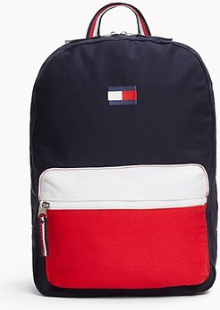 Colorblock Backpack Sky Captain/Apple Red -