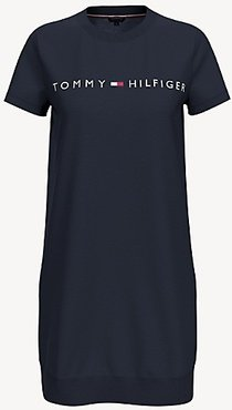 Essential Logo T-Shirt Dress Navy - XXS