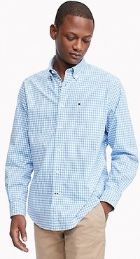 Classic Fit Essential Stretch Shirt Collection Blue - XL