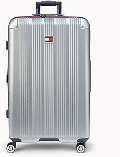 """28"""" Spinner Suitcase Silver -"""