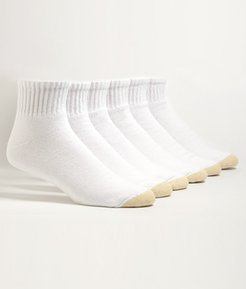 Cotton Cushion Big & Tall Ankle Socks 6-Pack