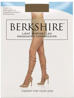 Light Graduated Compression Support Pantyhose