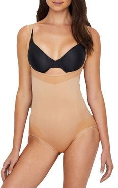 Seamless Open-Bust Medium Control Body Shaper