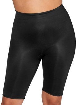 Plus Size Power Conceal-Her Medium Control Mid-Thigh Shaper