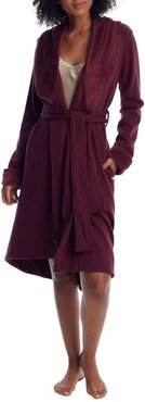 Duffield Shawl Collar Plush Robe