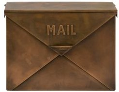 Tauba Copper Finish Mailbox