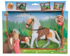 Toys -Champion Beauty Horse With Foal, White And Tan With White Mane And Tail