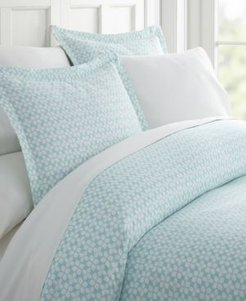 Lucid Dreams Patterned Duvet Cover Set by The Home Collection, Queen/Full Bedding