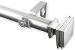 """Bedpost Curtain Rod 1"""" Od 160-240 inch"""