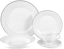 Parchment Pearl 5-Piece Place Setting