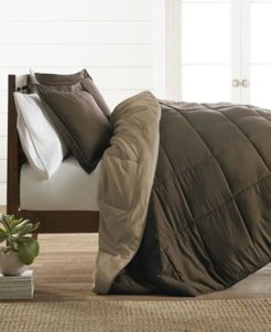 Restyle your Room Reversible Comforter Set by The Home Collection, King/Cal King Bedding