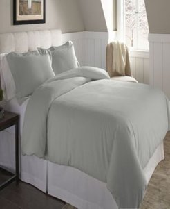 Superior Weight Cotton Flannel Duvet Set - King/Cal King Bedding