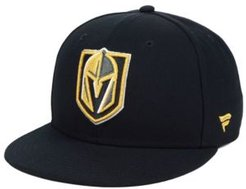 Vegas Golden Knights Basic Fan Fitted Cap