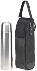 Stylish Coffee Tote with Thermal Flask
