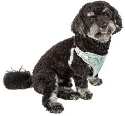 'Fidomite' Reversible and Adjustable Dog Harness with Bowtie