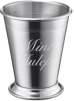 by Cambridge Stainless Steel Silver Mint Julep Cup