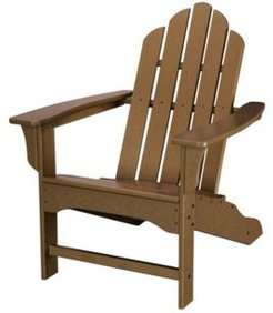 "All-Weather Contoured Adirondack Chair - 37.5"" x 29.75"" x 37"""