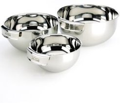 Stainless Steel 3 Piece Mixing Bowl Set