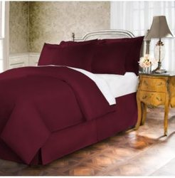 Belles and Whistles Premium 400 Thread Count Extra Long King Bed Skirt Bedding