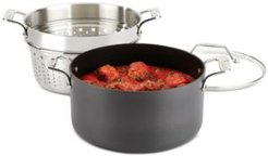 All Clad Essentials Nonstick 7-Qt. Covered Multi-Pot with Insert
