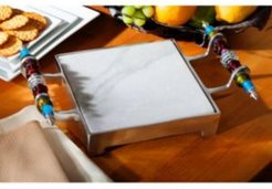 Kindwer Beaded Marble Cheese Serving Tray