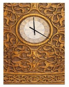 Oversized Contemporary Metal Wall Clock