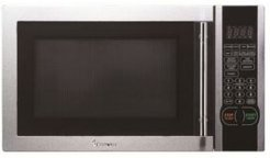Magic Chef 1.1 Cubic Feet 1000W Countertop Microwave Oven with Stylish Door Handle