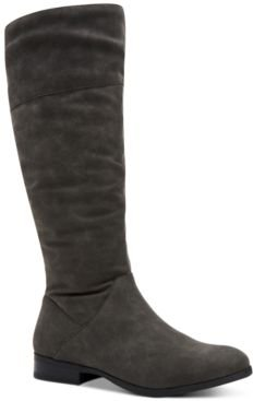 Kelimae Scrunched Boots, Created for Macy's Women's Shoes