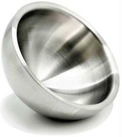 Stainless Steel Double Wall Serving Bowl