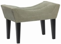 Maddie Button Tufted Single Bench