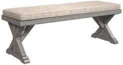 Ashley Furniture Beachcroft Outdoor Bench with Cushion