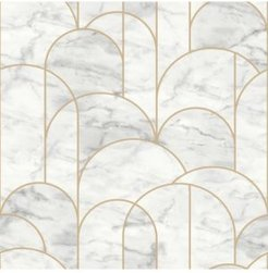 "Engblad Co 21"" x 396"" Arch Light Geometric Wallpaper"