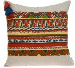 Zelda Bohemian Multicolor Pillow Cover With Down Insert