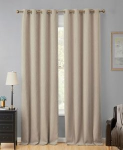 Obscura by Hlc. me Cairns 100% Blackout Grommet Curtain Panels - 50 W x 96 L - Set of 2