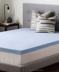 "2.5"" Gel Infused Memory Foam Mattress Topper, Twin Xl"