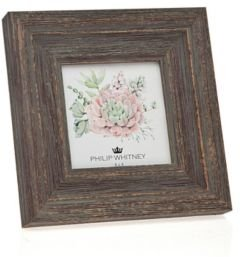 """Taupe Wood Frame - 4"""" x 4"""""""