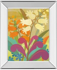 """Lily of The Valley by Cary Phillips Mirror Framed Print Wall Art, 22"""" x 26"""""""
